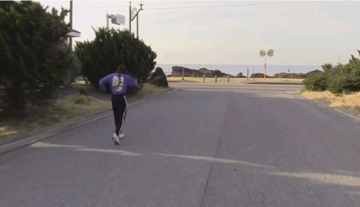 5日目早朝マラソン