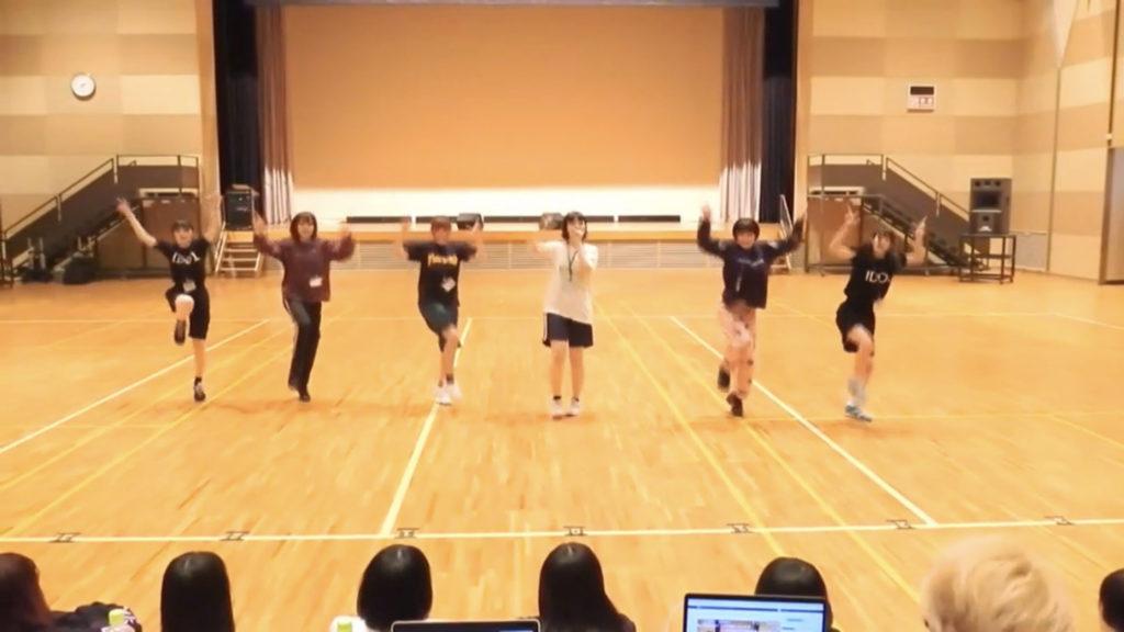 オーディション1日目ダンス審査