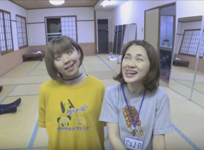 ムイ・ガ・ドクソンとアユノ・Bの変顔