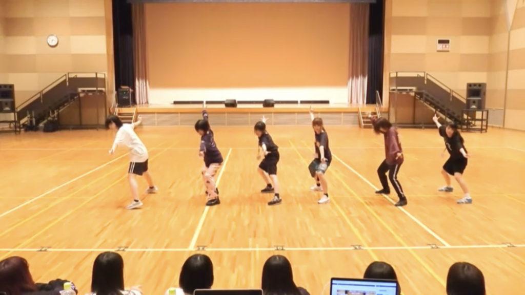 1日目 グループAダンス審査