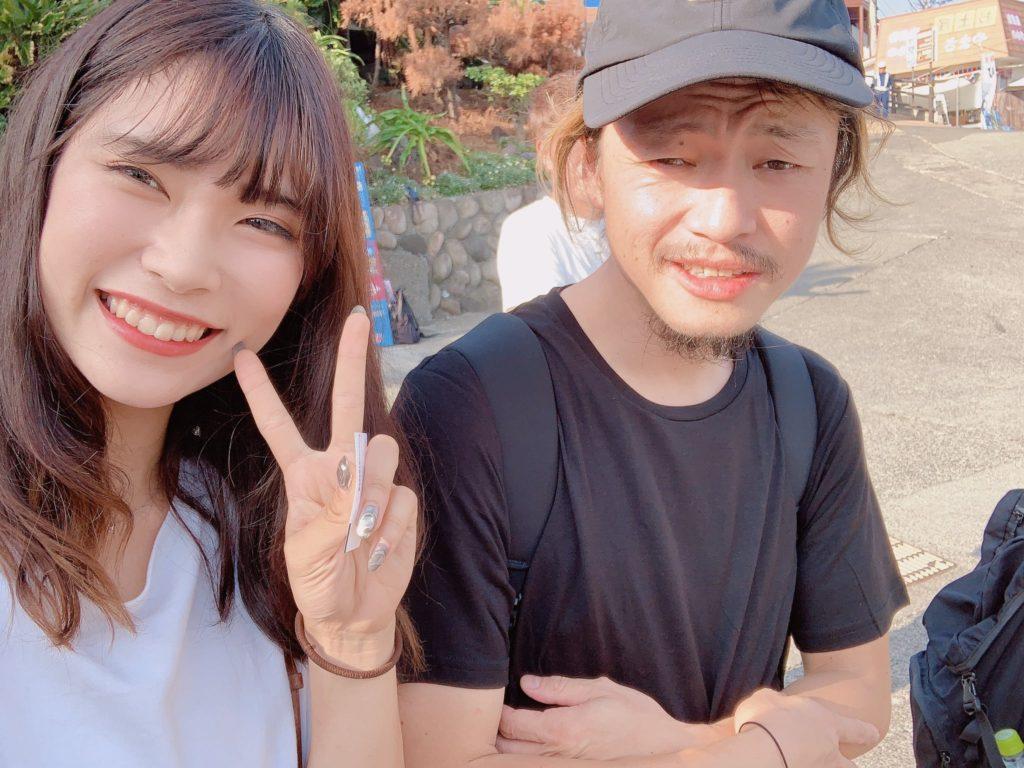 YU-Ki EMPiREと外林さん