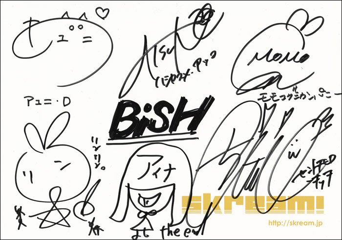 BiSHサイン