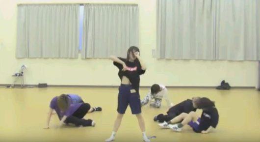 5日目 ダンス審査のレリビで面談で言ってた「変わる」を実践-3 おなかを見せる
