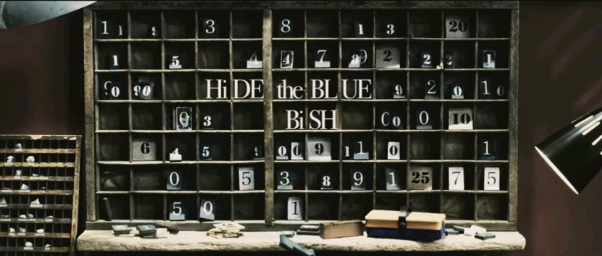 『HiDE the BLUE』