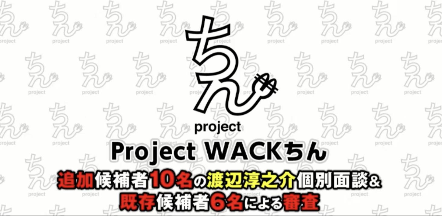 ProjectWACKちんTikTok追加通過者面接