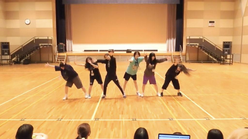 1日目 グループCダンス審査
